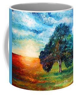 Self Portrait #3 A New Day Coffee Mug