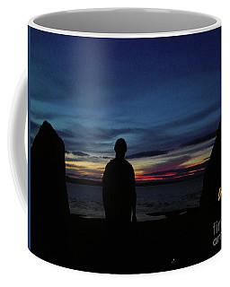 Self Portrait 3 - Between The Stones With The Sun Coffee Mug