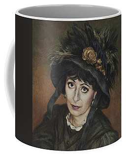 Self-portrait A La Camille Claudel Coffee Mug by Yvonne Wright