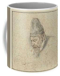 Self Portrait Of Henry Avercamp, Hendrick Avercamp, 1592-1629 Coffee Mug