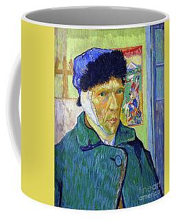 Self Portrait With A Bandaged Ear Coffee Mug