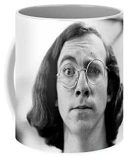 Self-portrait, With Raised Eyebrow, 1972 Coffee Mug