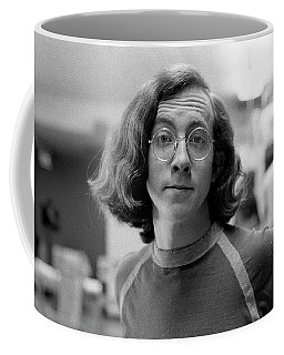 Self-portrait, With Raised Eyebrow, 1972, Number 2 Coffee Mug