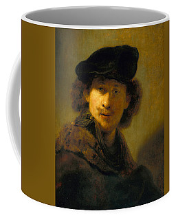 Self-portrait With Velvet Beret Coffee Mug