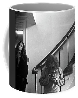 Self-portrait, With Woman, In Mirror, Cropped, 1972 Coffee Mug