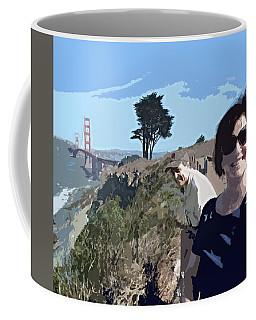 Selfie In San Francisco Coffee Mug