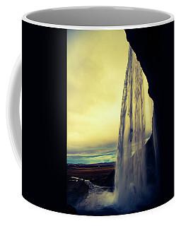 Seljalandsfoss Sunset Coffee Mug