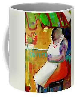 Selling Fruit In Colombia Coffee Mug