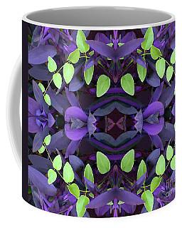 Semi-abstract Of Purple Foliage Coffee Mug by Linda Phelps