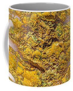 Semi Translucent Bark Abstract Coffee Mug