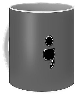 Semicolon 03 Coffee Mug by Bill Owen