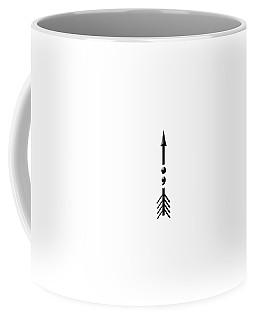 Semicolon Arrow Coffee Mug by Bill Owen
