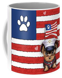 Semper Fidelis Yorkie Marine Coffee Mug