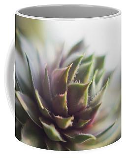 Coffee Mug featuring the photograph Sempervivum Prickles by Scott Lyons