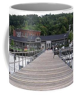 Seneca Lake Pier Watkins Glen New York Coffee Mug