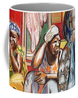 Coffee Mug featuring the painting Senegal, 1965 by Gary Coleman