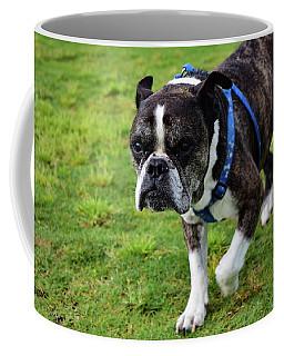 Leroy The Senior Bulldog Coffee Mug