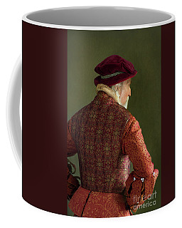 Senior Tudor Man Coffee Mug by Lee Avison