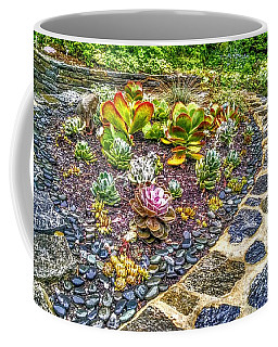 Sensory Garden At Laurelwood Arboretum Coffee Mug
