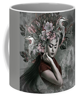 Sensual Asian Falls Coffee Mug