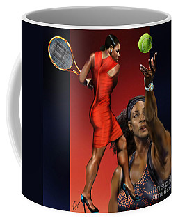 Sensuality Under Extreme Power - Serena The Shape Of Things To Come Coffee Mug