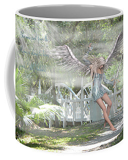 Sent From Heaven Coffee Mug by Rosalie Scanlon