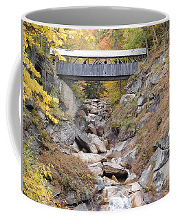 Sentinel Pine Covered Bridge Coffee Mug