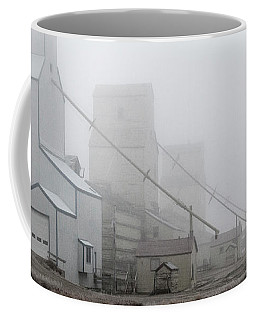 Sentinels In The Fog Coffee Mug