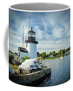 Sentinels Of The Sea Lighthouse Coffee Mug