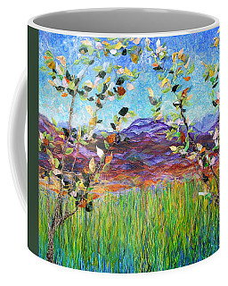 Sentries Diptych Coffee Mug by Regina Valluzzi