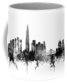 Seoul Skyline South Korea Coffee Mug