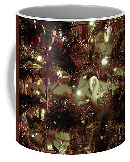 Sepia Christmas Tree Coffee Mug