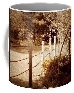 Sepia Garden Coffee Mug