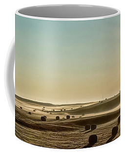 Coffee Mug featuring the photograph September Hay by Brad Allen Fine Art