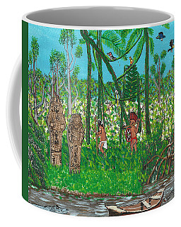 September   Hunters In The Jungle Coffee Mug
