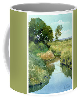 September Morning, Allen Creek Coffee Mug
