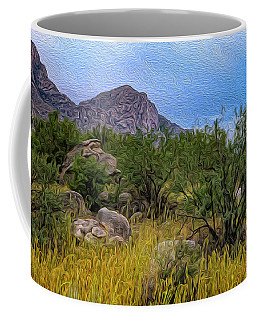 Coffee Mug featuring the photograph September Oasis No.2 by Mark Myhaver