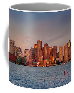 September Sunrise Over Boston, Boston, Massachusetts Coffee Mug