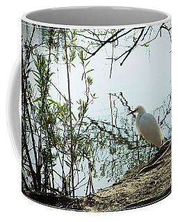 Sepulveda Basin Crane 1 Coffee Mug