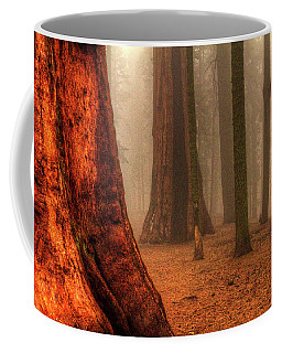 Sequoias Touching The Clouds Coffee Mug
