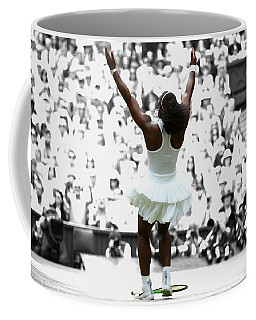 Serena Williams Back On Top Coffee Mug