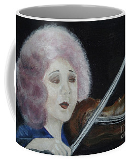 Coffee Mug featuring the painting Serenade by Lyric Lucas