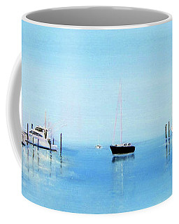 Serene Atlantic Highlands Marina Coffee Mug