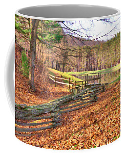 Coffee Mug featuring the photograph Serene Lake by Gordon Elwell