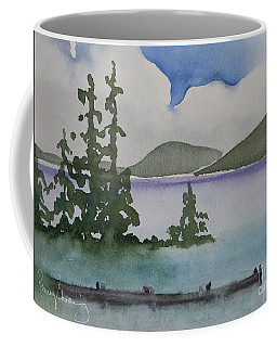 Serene Morning On Lake Superior Coffee Mug