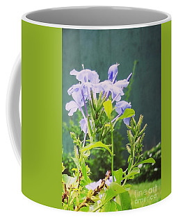 Serene Purple Coffee Mug by Rushan Ruzaick
