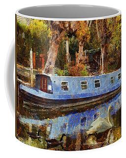 Coffee Mug featuring the digital art Serene Scene by Leigh Kemp