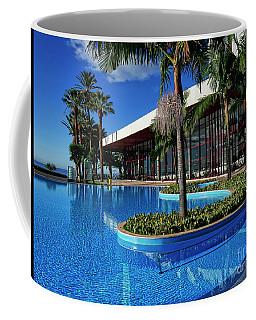 Serene Swimming Pool Coffee Mug