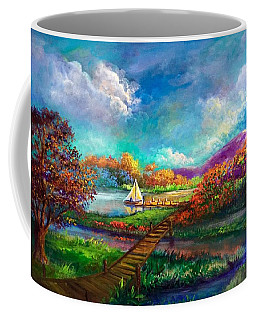 Serenely Sailing/navegando Serenamente Coffee Mug