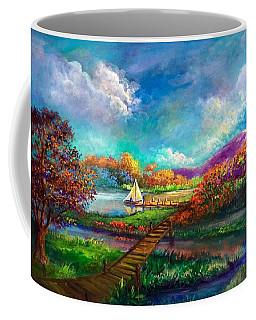 Serenely Sailing  Navegando Serenamente Coffee Mug